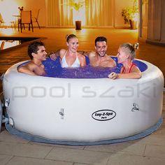 Bestway Whirlpool Lay-Z-SPA Paris beleuchtet 54148 Spa Paris, Massage, Home Spa, Color Changing Led, Jacuzzi, Vinyl, Color Change, Storage Chest, Bathtub