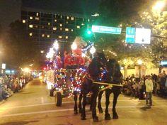 Vintage Carriage -- Highland Park Christmas Lights