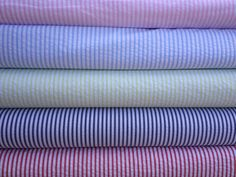 Beautiful Wide Cotton Stripe Seersucker 60W Available in 5 colors