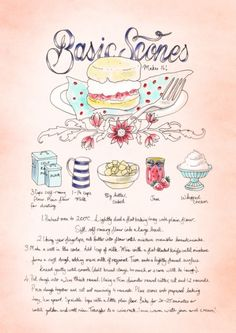 recipe illustration - bec winnel