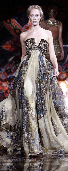 Zuhair Murad Fall-winter 2008-2009 - Couture - http://www.orientpalms.com/zuhair-murad,693