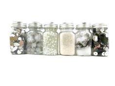 Coordinating White Silver embellishments by ToppyToppyKnits, $12.00