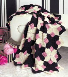 Crochet Retro Afghan