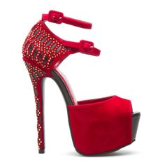 ShoeDazzle! Eveyones knows red is my FAV color and this shoe here sets it off right!! xoxo FUR :Casey by Scene