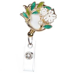 Pearl Garden Badge Reel