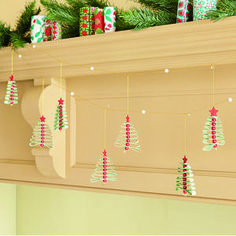 Christmas Tree Garland - view all decorations