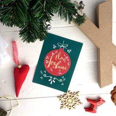 Joulukortti/Christmas card  www.papellia.fi