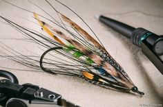 Fly Tying Archive • Balmoral Dee Fly named after the famous castle of the royal family in Aberdeenshire, Scotland.