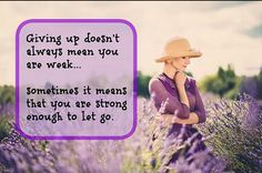 If you need to e up one one thing, come back strong on everything else.