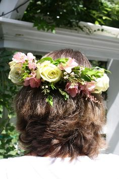 How to Make Rose Floral Crowns