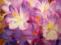 Ruth S Harris    WATERCOLOR