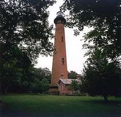 Currituck Beach Lighthouse - Corolla, NC completed 1875--saw--