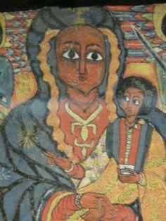 Ethiopian Madonna & Child