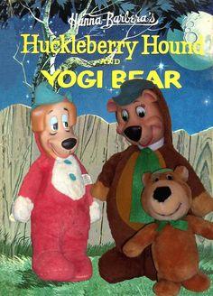 1959 Knickerbocker Huckleberry Hound & Yogi Bear