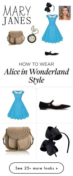 """Alice in wonderland"" by dragonflykim on Polyvore featuring Rochas and Chloé"
