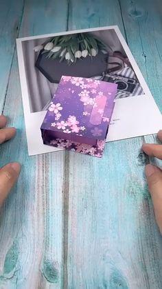 Diy Crafts Hacks, Diy Crafts For Gifts, Diy Crafts Videos, Creative Crafts, Decor Crafts, Diy Videos, Paper Crafts Origami, Paper Crafts For Kids, Diy Paper