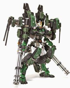 GUNDAM GUY: MG 1/100 Gundam Astray Green Frame and Gear - Custom Build