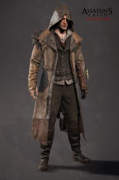 Assassin's Creed Syndicate - Jacob's Frankeinstein DLC outfit, Mathieu Goulet on ArtStation at https://www.artstation.com/artwork/o0kvL