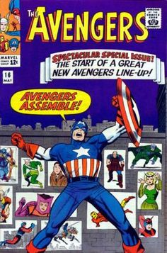 Top 20 Avengers Comic Book Covers!  Auction your comics on http://www.comicbazaar.co.uk