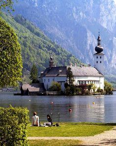 Gmunden in Austria