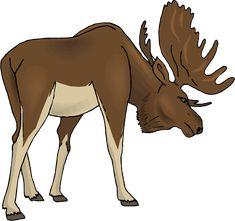 179 best moose clipart images on pinterest elk animales and moose rh pinterest com clip art moose with sunglasses clipart mouse