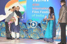 Rajinikanth Receives the Indian Film Personality of the Year Award at the IFFI 2014 The 45th Internation Film Festival of India (IFFI) opened in Goa on Thursday November 20th at the Syama Prasad Mookerjee indoor stadium http://www.thatsgoofy.com/rajinikanth-receives-the-indian-film-personality-of-the-year-award-at-the-iffi-2014/