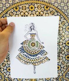 Shamekh Bluwi, an architect and fashion illustrator based in Amman, Jordan, creates beautiful paper cut-outs with women whose dresses become whatever you hold them up against.via https://www.facebook.com/shamekhbluwi/timeline #artpeople Submit your Artwork and join our artists @ www.artpeople.net #gallery #inspire #art #illustration #drawing #draw #photo #photos #picture #artist #people