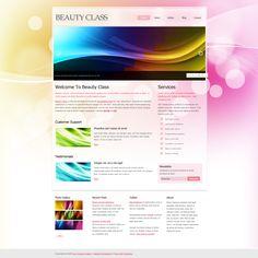Free CSS Template 353 beauty class Free Html Website Templates, Html Templates, Free Website, Blog, Fresh, Beauty, Inspiration, Design, Biblical Inspiration