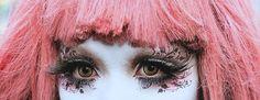 winter in toyko makeup   ... Tokyo Fashion Minori Harajuku Fashion MakeUp Art Shironuri shironuri