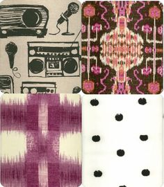 Formula for mixing patterns: one big pattern, one small, one stripe, one geometric, one floral/organic, plus or minus one animal print. - Little Green Notebook