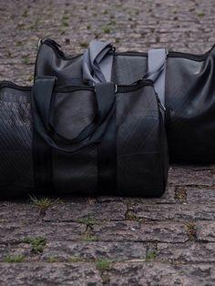 mala em pneu reciclado