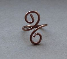 Atlantic wave ring by TanfanasTwinflame on Etsy