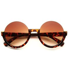 Cheap Oversized Sunglasses | Terra Half Frame Round Sunglasses | BleuDame.com Round Frame Sunglasses, Oversized Sunglasses, Optician, Prescription Lenses, Types Of Fashion Styles, Shades, Crystals, My Style, First Aid