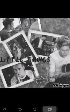 😍😍😍😍 One Direction Little Things, Polaroid Film