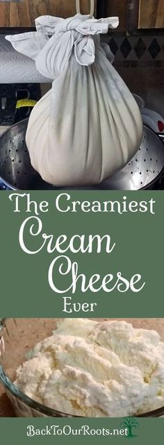 Develop A The Moment Upon A Dream Fairy Tale Birthday Bash Easy Homemade Cream Cheese Cream Cheese Recipes, Milk Recipes, Real Food Recipes, Healthy Recipes, Make Cream Cheese, Cream Cheeses, Dairy Recipes, How To Make Cheese, Food To Make