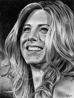 Jennifer Aniston... finally by daniel-w on DeviantArt