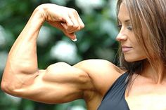 The Complete Guide to Biceps Training - XbodyConcepts Female Muscle, Fake Muscles, Biceps Training, Muscular Women, Muscle Girls, Fit Women, Strong Women, Hot Girls, Female Bodybuilding
