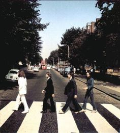 It was 44 years ago today, August 8 1969!! Picture six from the Abbey Road photography session. Imagine if this was chosen for the cover!