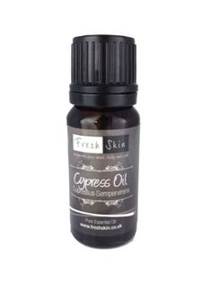 2 drops Cypress Essential Oil