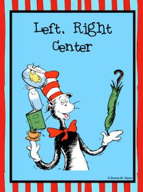 Welcome to Kinderglynn: Learning Right and Left with Dr. Seuss