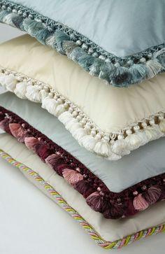 Deco Off | De Gournay Pillows with Palais Trim