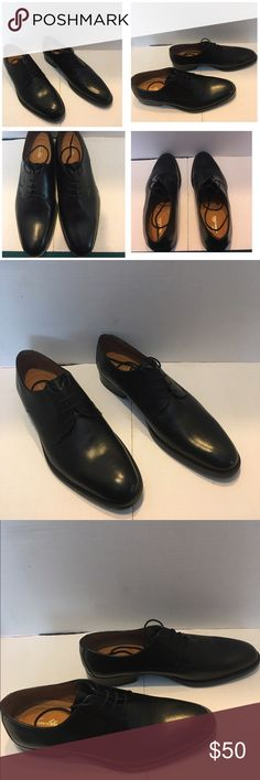 Tasso Elba Men's Black Plain Toe DBY Size 10 Tasso Elba Men's Black Plain Toe DBY Size 10 Worn Once Tasso Elba Shoes Oxfords & Derbys