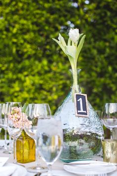 outdoor wedding decor - Read more on One Fab Day: http://onefabday.com/palm-springs-wedding-by-ep-love/