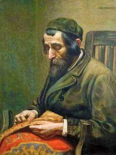 """The Jewish Tailor"" by Arthur Markowitz"