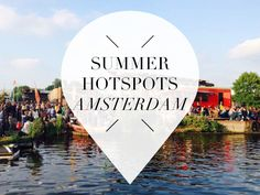 Summer hotspots in Amsterdam: from urban beach to floating swimming pool!