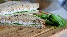 maxymonium kulinarne: Kanapki piknikowe z pastą z kurczaka