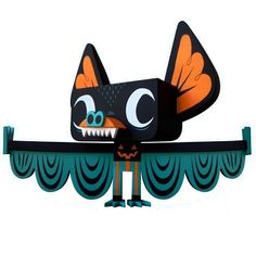 "Designer Resin Toy, designer toy, vinyl toy, urban vinyl, ""Hermees"" designer toy by Gary Ham"