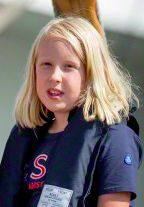 Comtesse Luana van Oranje-Nassau, 10 ans, née en 2005