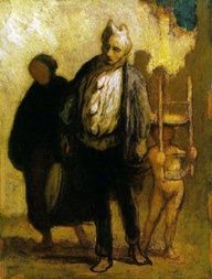 Honoré Daumier (French, 1808–1879): . - Google Search