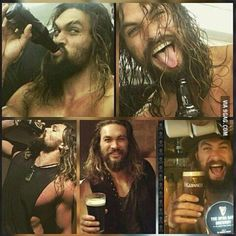Jason Momoa. This man is just perfect ^^ (No offense to you gorgeous dudes on this page! I just like Jason Momoa)
